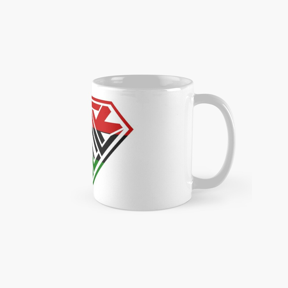 Black SuperEmpowered (Red, Green Mugs