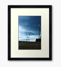 Powered Country Framed Print