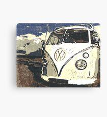 VW Splt Screen Camper 1 Canvas Print
