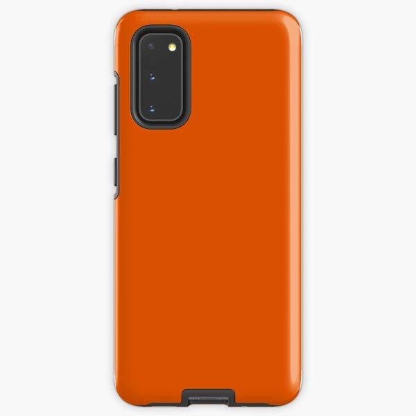 Persimmon Orange Samsung Galaxy Tough Case