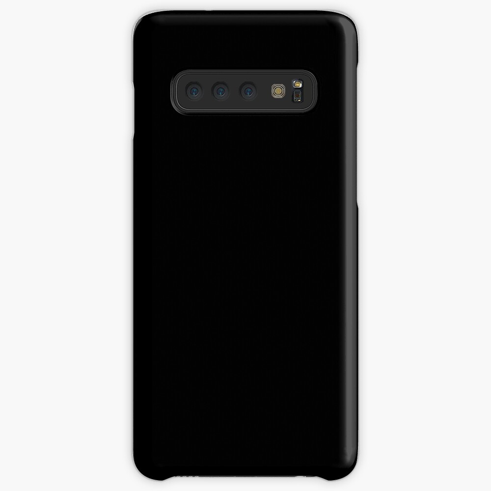 Dark Black Case & Skin for Samsung Galaxy