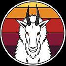 Rocky Mountain Goat - Sonnenuntergang von Britt Sorensen
