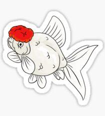 Fancy Goldfish - Oranda Sticker