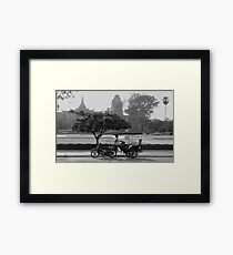 Before the Museum Framed Print