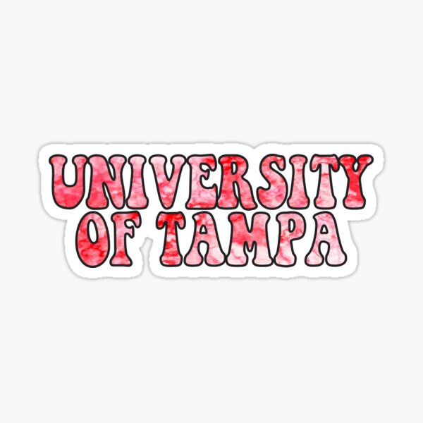 University of Tampa Sticker