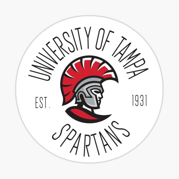 University of Tampa Spartans Sticker