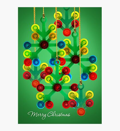 Christmas decorations, Merry Christmas Photographic Print