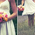 ~the bride and the bouquet ~ by Adriana Glackin