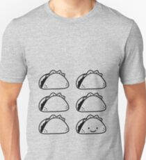 taco 6-pack Slim Fit T-Shirt