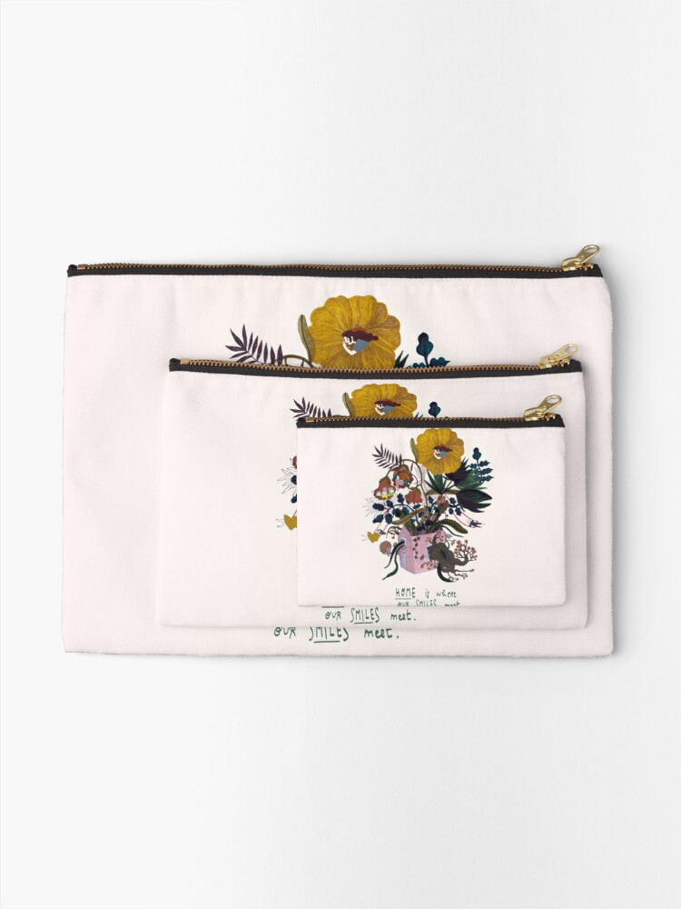 Alternate view of Home Zipper Pouch
