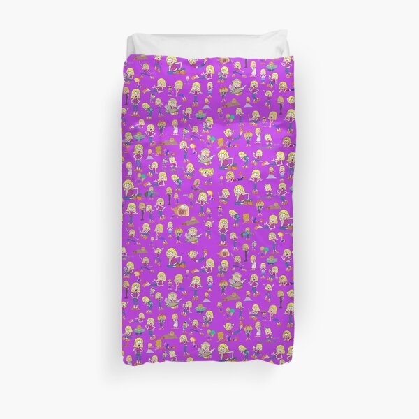 Animated Lizzie McGuire Duvet Cover