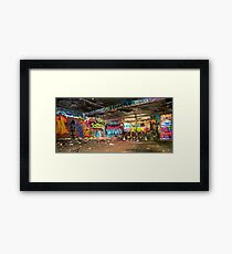 Miami Graffiti Framed Print