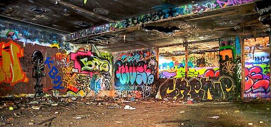 Miami Graffiti by Bill Wetmore
