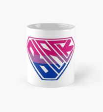 Black SuperEmpowered (Pink, Purple & Blue) Mug