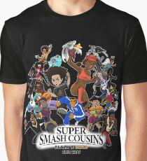 Super Smash Cousins Grafik T-Shirt