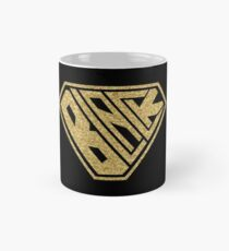 Black SuperEmpowered (Gold Glitter) Classic Mug