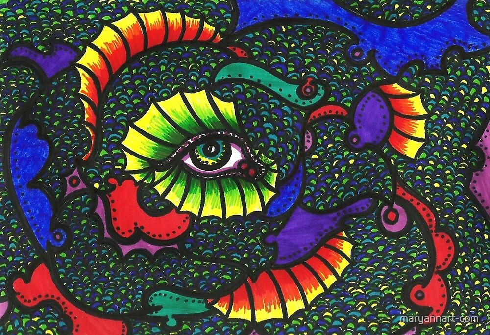 Fins Eye by maryannart-com