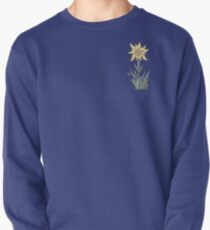 Edelweiss Flower ...an abstract version  Pullover Sweatshirt