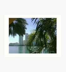 Brickell Bay Art Print