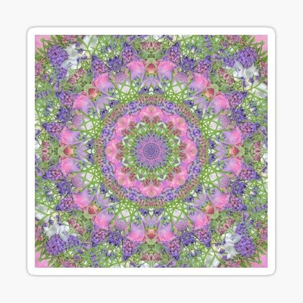 Pink and Purple Summer Bouquet Sticker