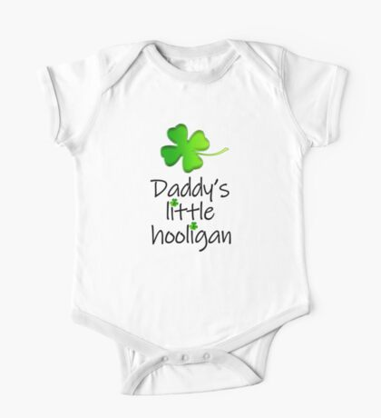 Daddy's Little Hooligan Kids Clothes