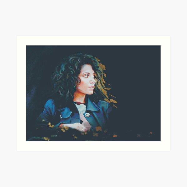 Katie Melua Art Print