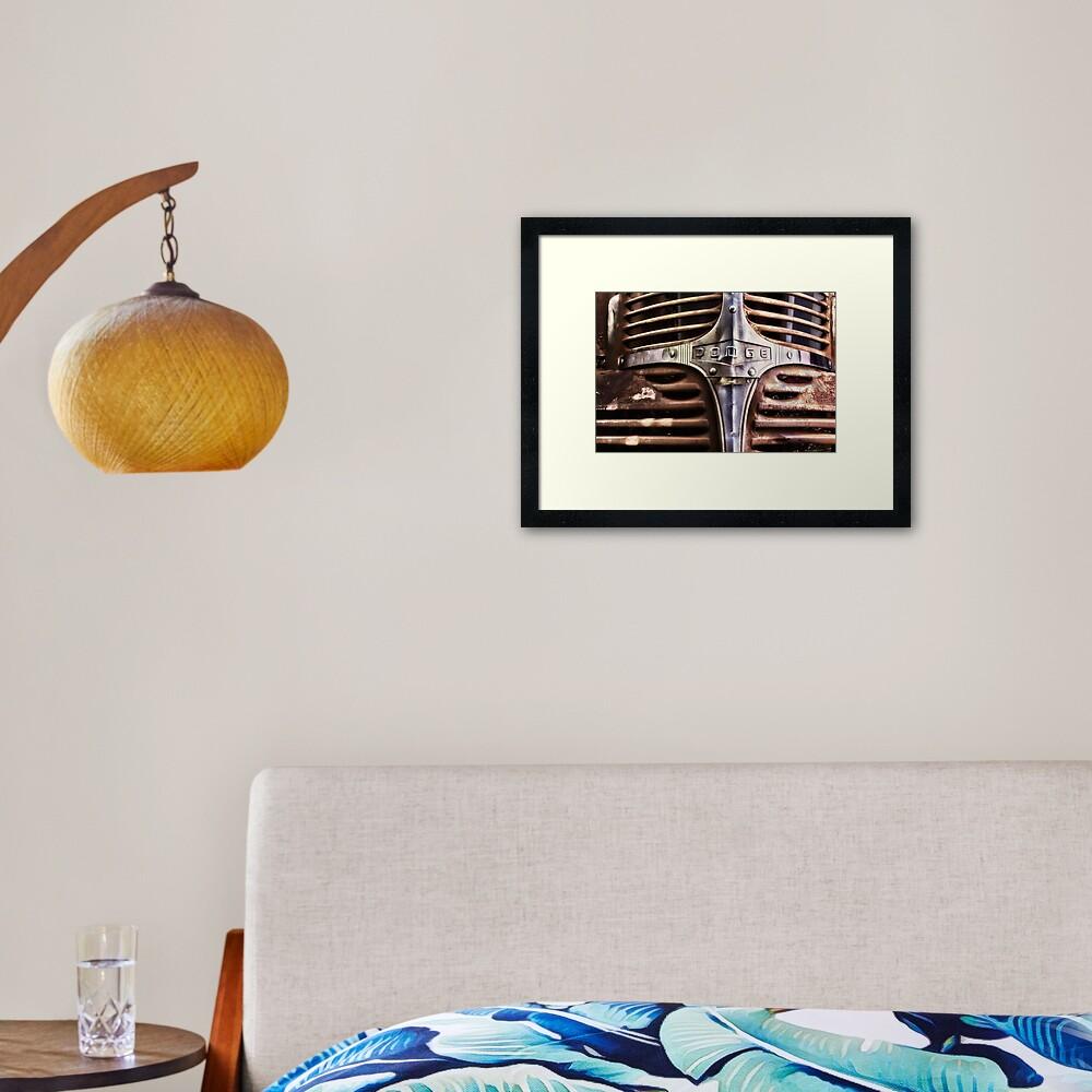 Dodge Framed Art Print