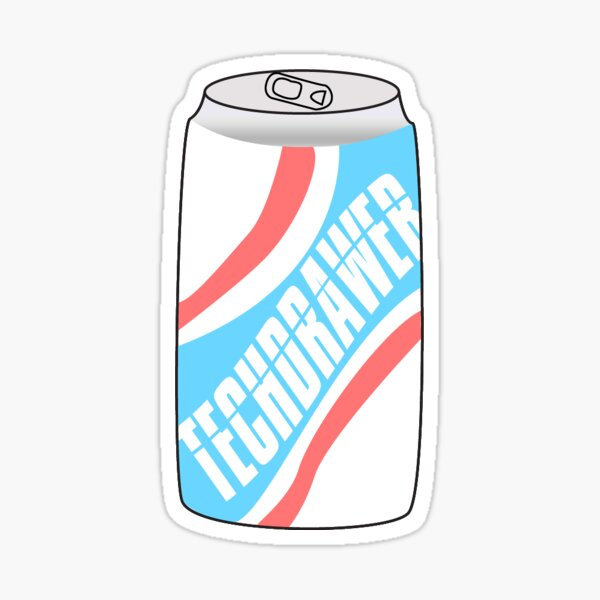 techdrawer cola by Riley Rosa Sticker