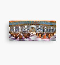 360 degree  view (Must visit, LINK in description)  of the Ukrainian  Catholic Cathedral of the Immaculate Conception, Philadelphia Canvas Print