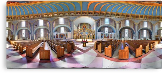 360 degree  view (Must visit, LINK in description)  of the Ukrainian  Catholic Cathedral of the Immaculate Conception, Philadelphia by electron