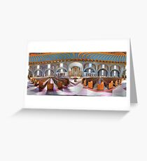 360 degree  view (Must visit, LINK in description)  of the Ukrainian  Catholic Cathedral of the Immaculate Conception, Philadelphia Greeting Card