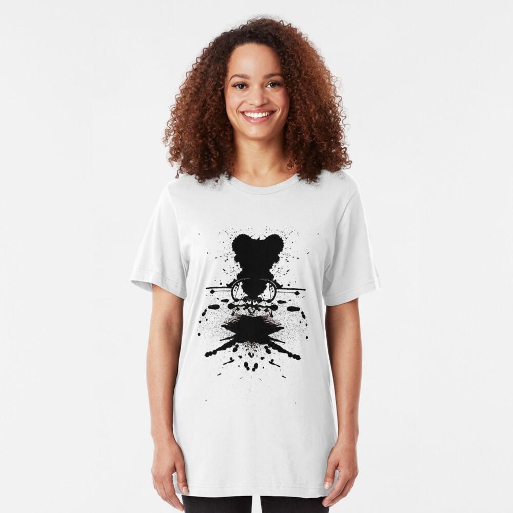 Black Heart. Slim Fit T-Shirt