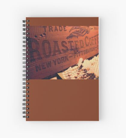 Trade Mark Roasted Coffee Spiral Notebook