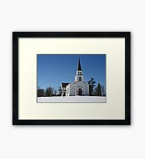 St. James Meeting House Framed Print