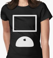 iMac Womens Fitted T-Shirt