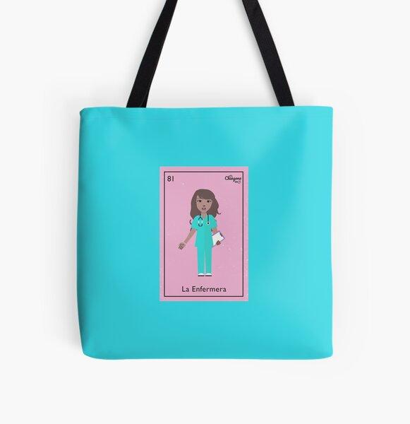 La Enfermera All Over Print Tote Bag