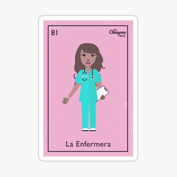 La Enfermera Pegatina