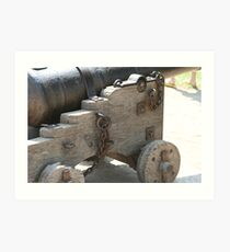 Old Cannon Art Print