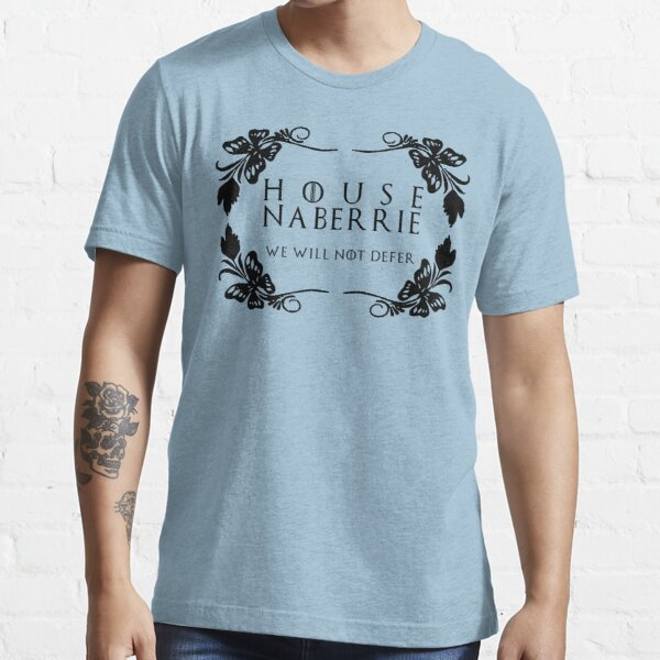 House Naberrie (black text) Essential T-Shirt