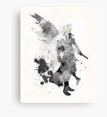 Final Fantasy 7 - Sephiroth Art Print Metal Print