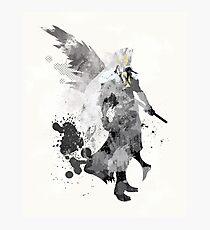 Final Fantasy 7 - Sephiroth Art Print Photographic Print