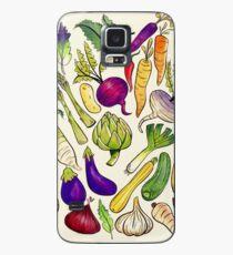 Funda/vinilo para Samsung Galaxy Come tus vegetales