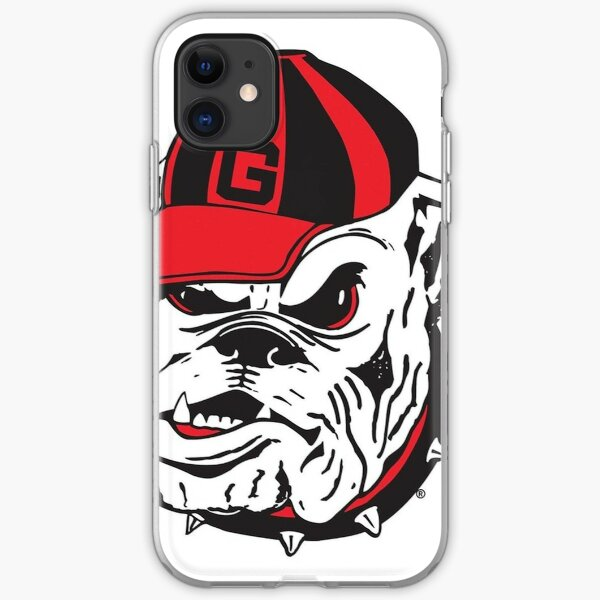 UGA Bulldog iPhone Soft Case