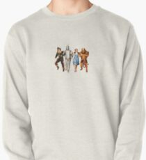 Scarecrow, Tin Man, Dorothy, and the Cowardly Lion Pullover