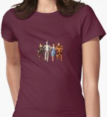 Scarecrow, Tin Man, Dorothy, and the Cowardly Lion T-Shirt