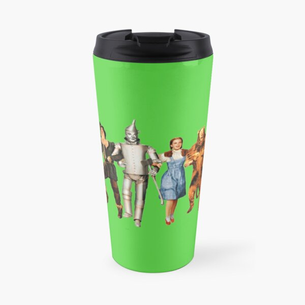Scarecrow, Tin Man, Dorothy, and the Cowardly Lion Travel Mug