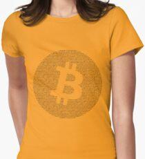 Bitcoin Women's Fitted T-Shirt