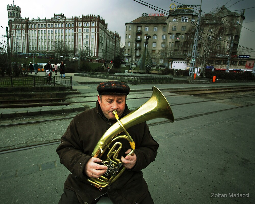 The Moscow Square by Zoltan Madacsi