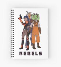 Rebels Spiral Notebook