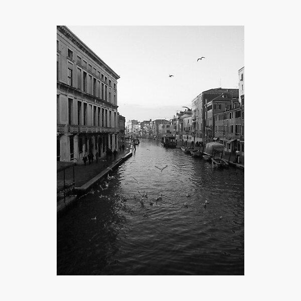 Canal di Cannaregio Photographic Print